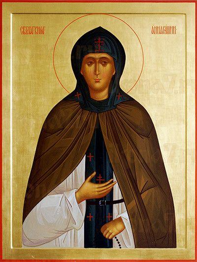 Анна Кашинская (рукописная икона)